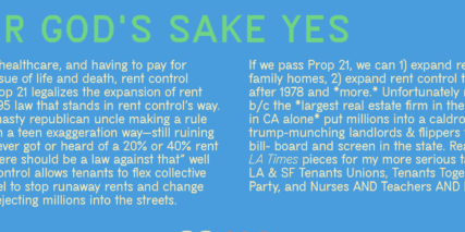 blue image green and white text prop 21